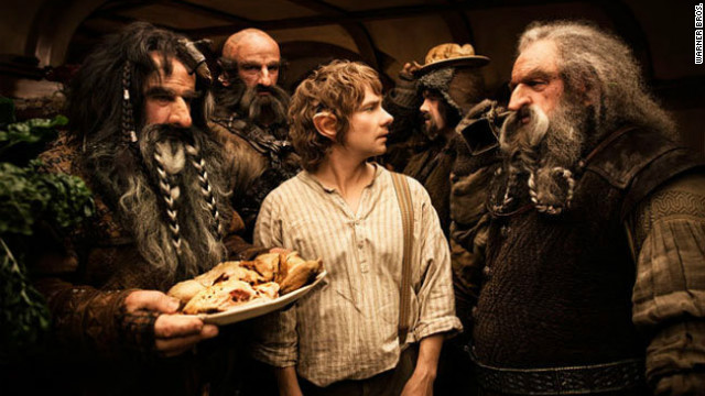 "A scene from ""The Hobbit: An Unexpected Journey."""