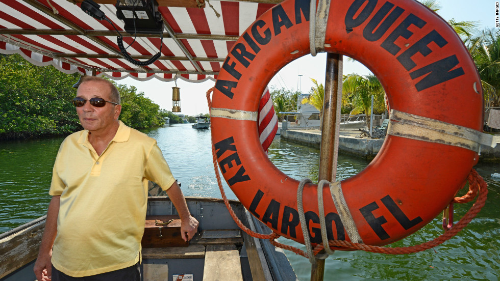 Humphrey Bogart's son, Stephen, has given the restored vessel his blessing.