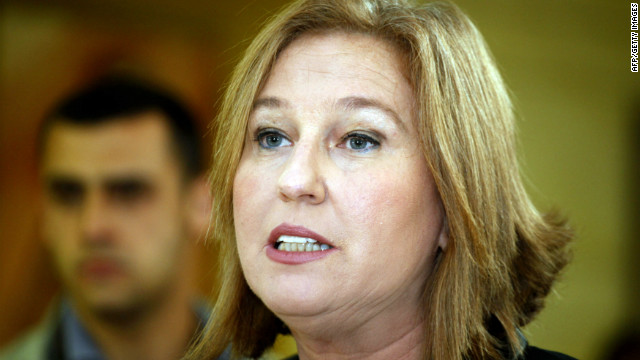 Tzipi Livni said her principles and values obligated her to leave.