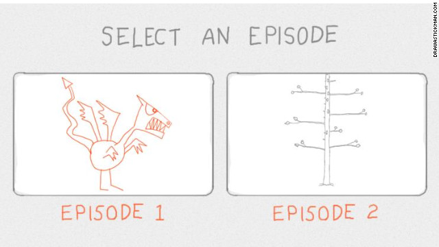 """Draw A Stickman"" lets user do just that, then watch as their creation is run through its animated paces."