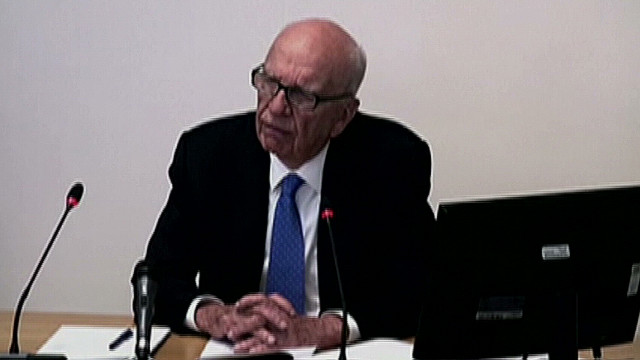 Rupert Murdoch: 'I was not aware'