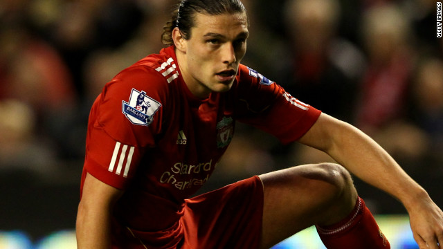 Misfiring Liverpool striker Andy Carroll failed to add to his four goals in the Premier League this season