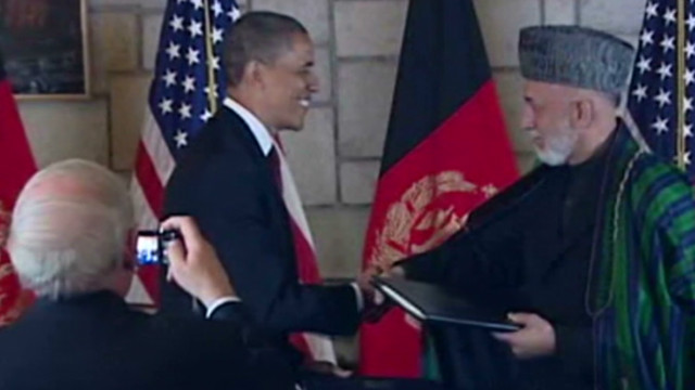 Obama: Afghan partnership looks to peace