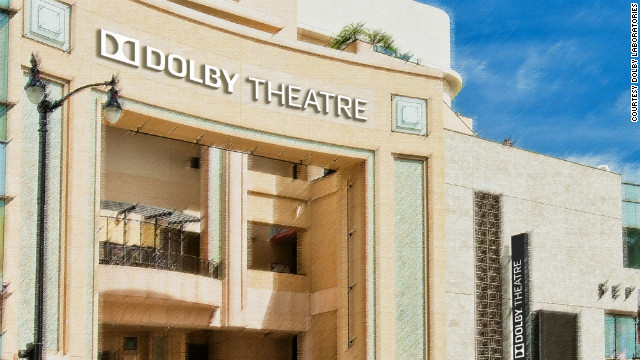 A rendering of the former Kodak Theatre which will be the Dolby Theatre.