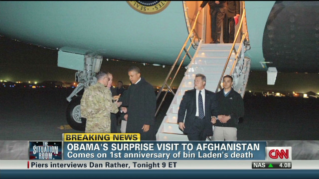 Obama's surprise visit to Afghanistan