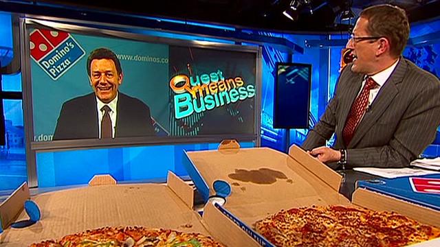 Domino's Pizza CEO Richard Quest _00041926