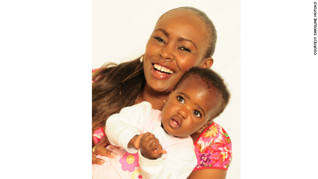 Recently Mutoko adopted 8-month-old girl, Theodora Nduku.