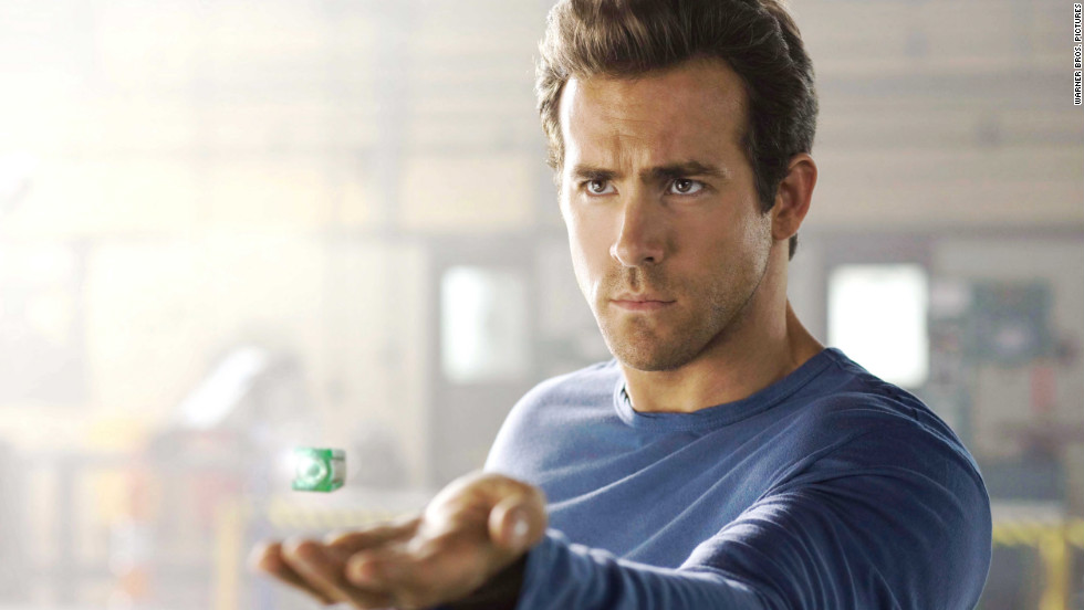 Reynolds was also DC's Green Lantern in 2011, but critics and audiences weren't too thrilled with it.