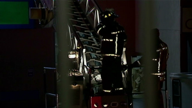 Fire strikes Tyler Perry Studios