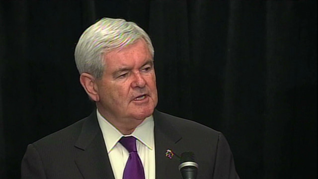 Gingrich suspends presidential campaign
