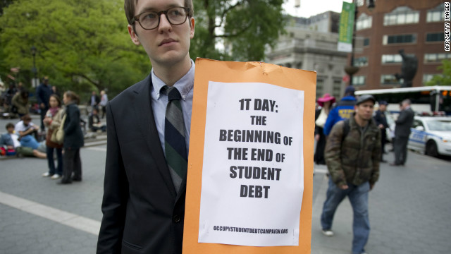 Occupy Wall Street rallies against education costs. William Bennett: Colleges raise prices despite record federal subsidies.