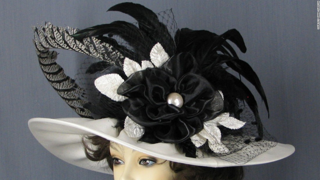 "Diane Siverson, of <a href=""http://www.ladydianehats.com/index.html"" target=""_blank"">Lady Diane Hats</a>, is proud of her ""Morning Star"" hat. The design inspires her customers to order similar customized hats."