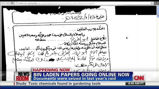 Bin Laden papers released