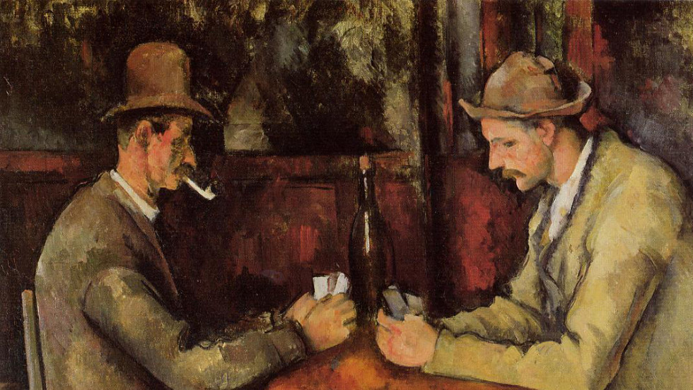 "In a private sale in 2011, Qatar's royal family paid more than $250 million for ""The Card Players,"" a post-impressionist painting by French artist Paul Cezanne."