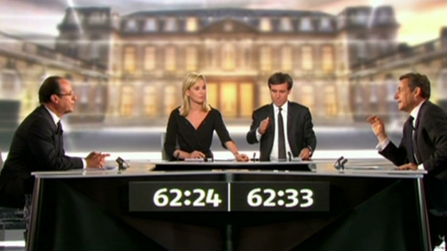 French presidential rivals trade insults