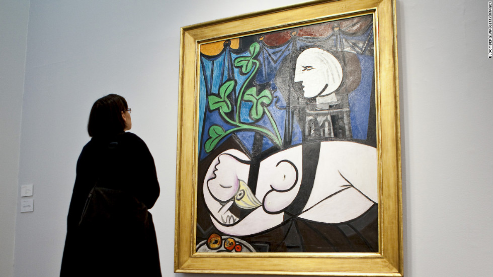 "Pablo Picasso's ""Nude, Green Leaves, and Bust"" sold for $106.5 million in 2010."