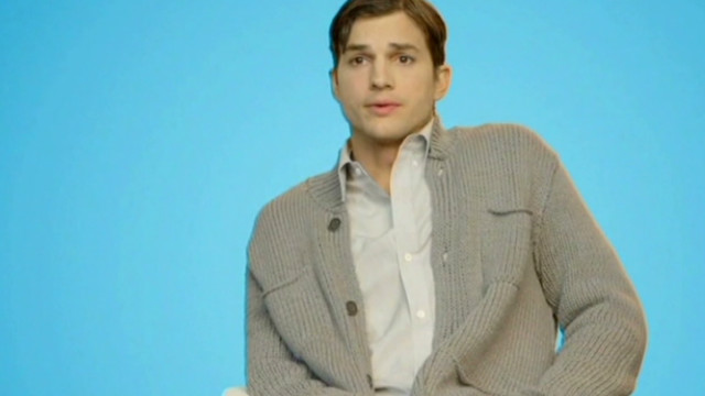 Ashton Kutcher looking for love?