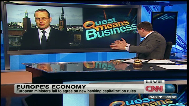 Swedish finance minister on Europe's GDP
