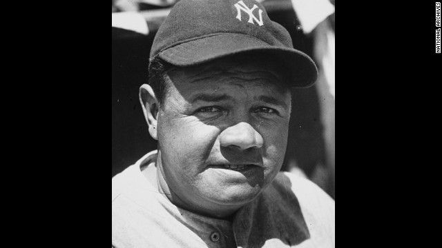 A recording of baseball great Babe Ruth on a 1937 hunting trip was stolen from the National Archives and sold on eBay.