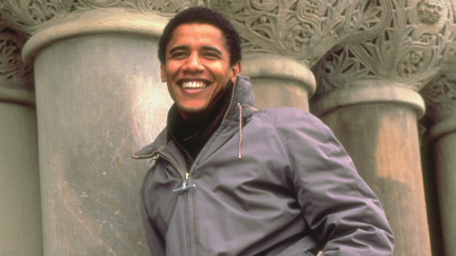 Exes share glimpse of young Obama