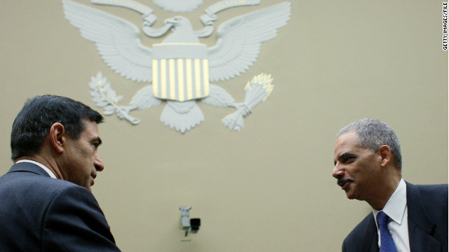 Issa, Holder face off pre-contempt vote