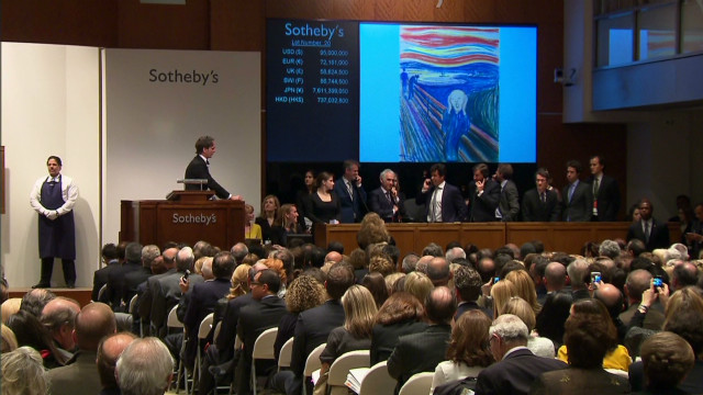 'The Scream' nabs record auction sum