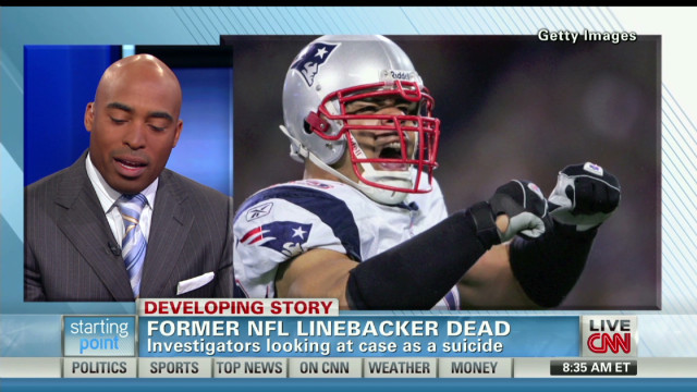 Tiki Barber on Junior Seau's death