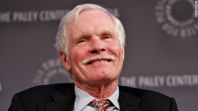 NEW YORK, NY - APRIL 29: CNN Founder Ted Turner attends Screening/Panel of Cold War: The Complete Series at The Paley Center for Media on April 29, 2012 in New York City. (Photo by Charles Eshelman/Getty Images)
