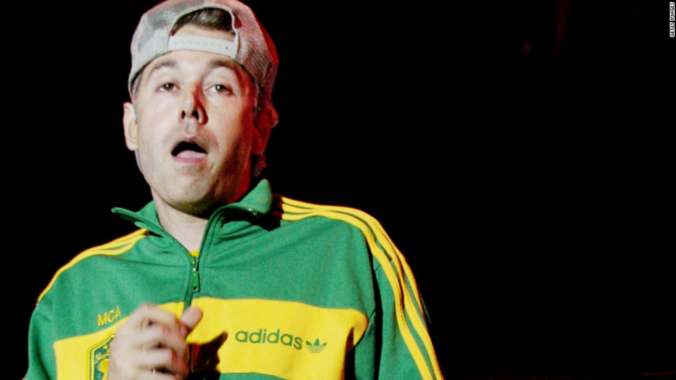 "Adam ""MCA"" Yauch of the Beastie Boys performs in 2004 at the VooDoo Music Festival in New Orleans."