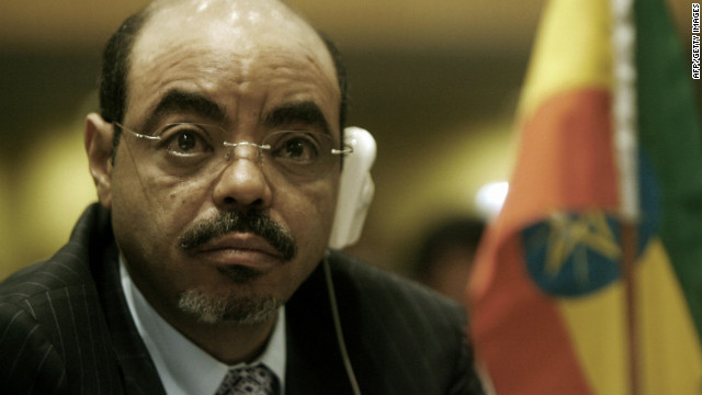 Meles Zenawi, the Prime Minister of Ethiopia, is among the four African leaders to attend the G8 summit