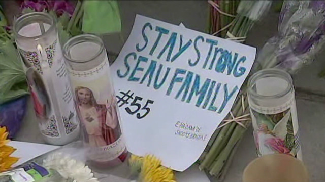 Family, friends mourn Junior Seau