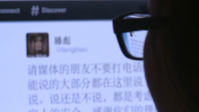 Chinese support for blind activist Chen