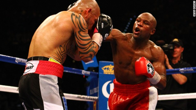 Floyd Mayweather Jr. punch