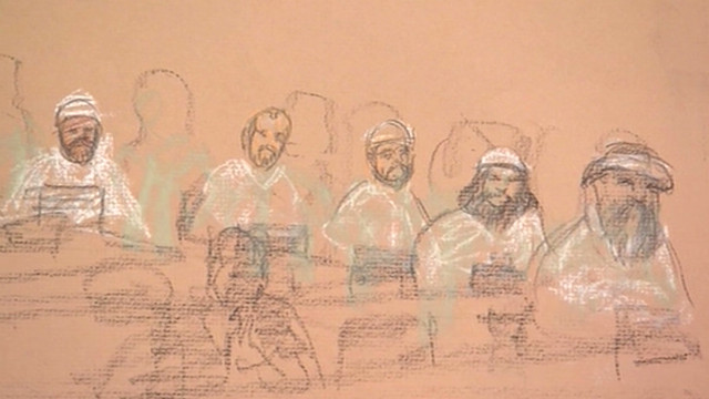 Arraignment for 9/11 suspects chaotic