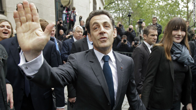 Police raided former French President Nicolas Sarkozy's home Monday in an ongoing investigation.