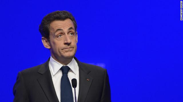 Sarkozy concedes election