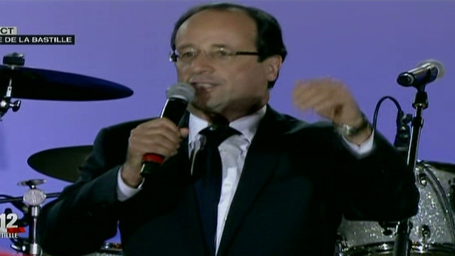 Hollande: I've heard call for change