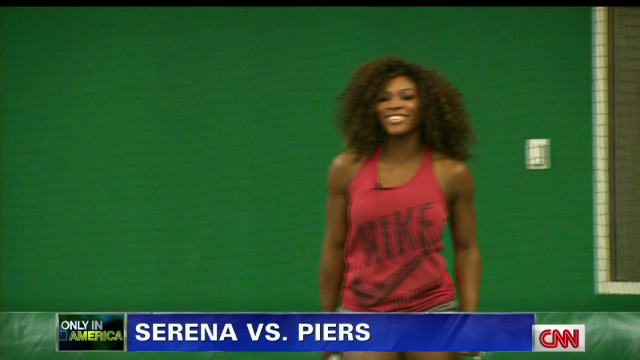 Only in America: Piers vs. Serena