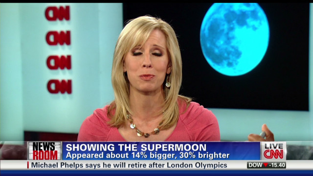 iReporters share 'super' moon views