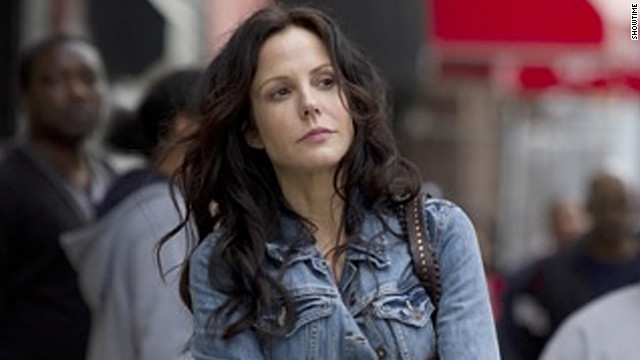 "Mary Louise Parker stars as Nancy Botwin on the Showtime series ""Weeds."""