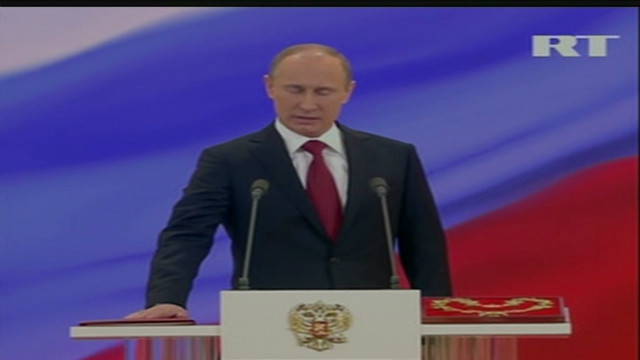 Vladimir Putin sworn in for new term