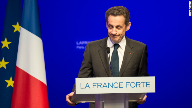 French President Nicolas Sarkozy played a world role that's unlikely to be followed by his successor, Francois Hollande.