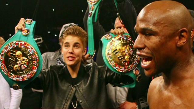 Bieber's new BFF: Floyd Mayweather?