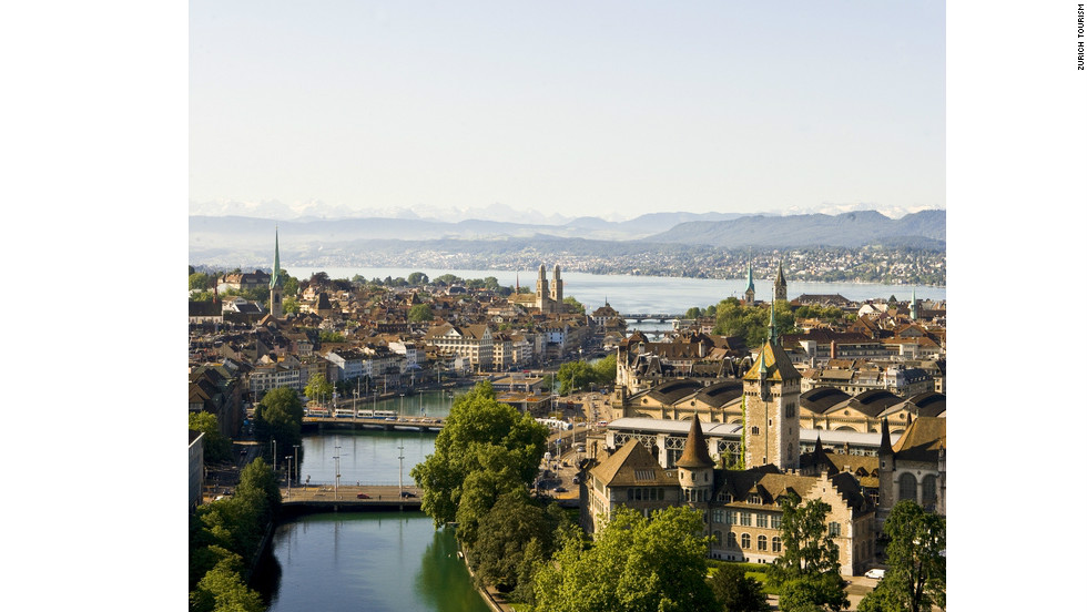 "Zurich's excellent, efficient public transport means you can visit the beautiful ""Old Town"" even during a short stopover"