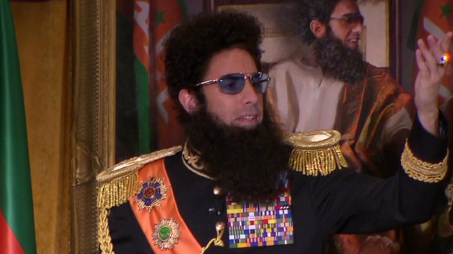 'The Dictator' backs 'Mitchell' Romney