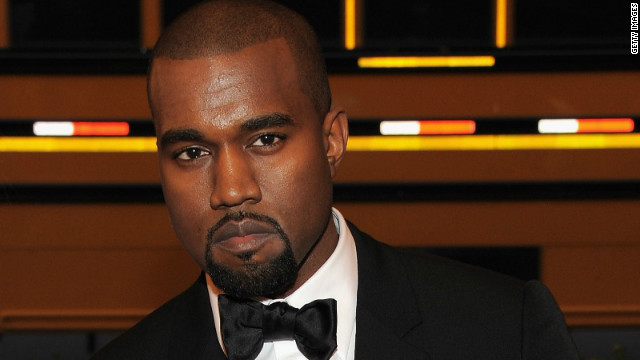 Kanye West attends the Costume Institute Benefit at the Metropolitan Museum of Art in New York City on May 7, 2012