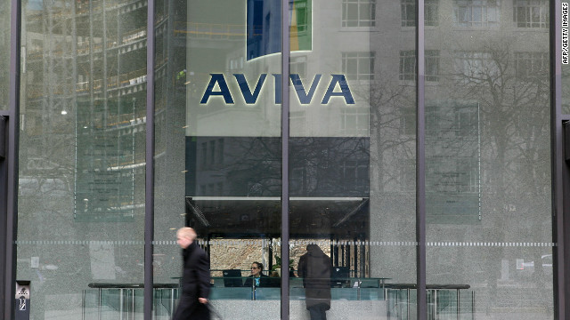 The boss of Aviva, Britain's largest insurance company, has resigned after pay dispute with shareholders