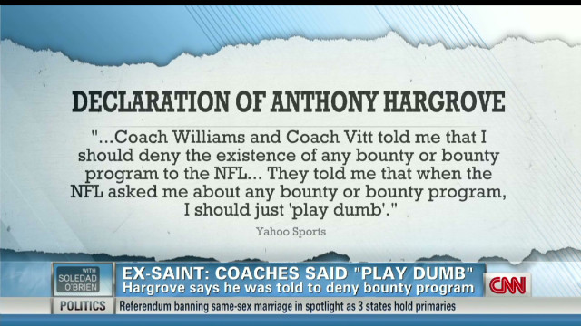 Fallout after ex-Saint told 'play dumb'
