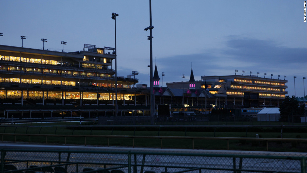 Once the international racing set leaves Louisville, Churchill Downs returns to its usually low-key self.