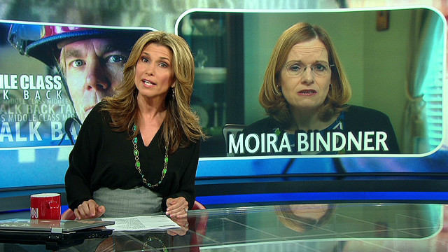 Middle-class talk back: Moira Bindner
